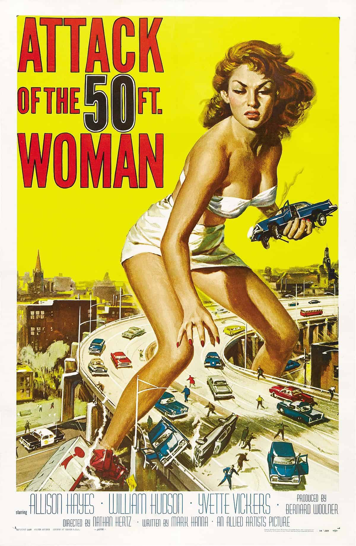 Movie Posters We Love: Attack of the 50 Foot Woman