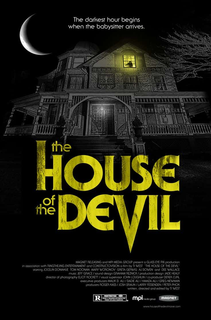 MOVIE POSTERS WE LIKE: HOUSE OF THE DEVIL