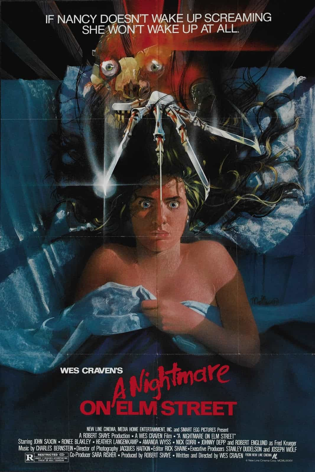 Movie Posters We Love: A Nightmare on Elm Street (1984)
