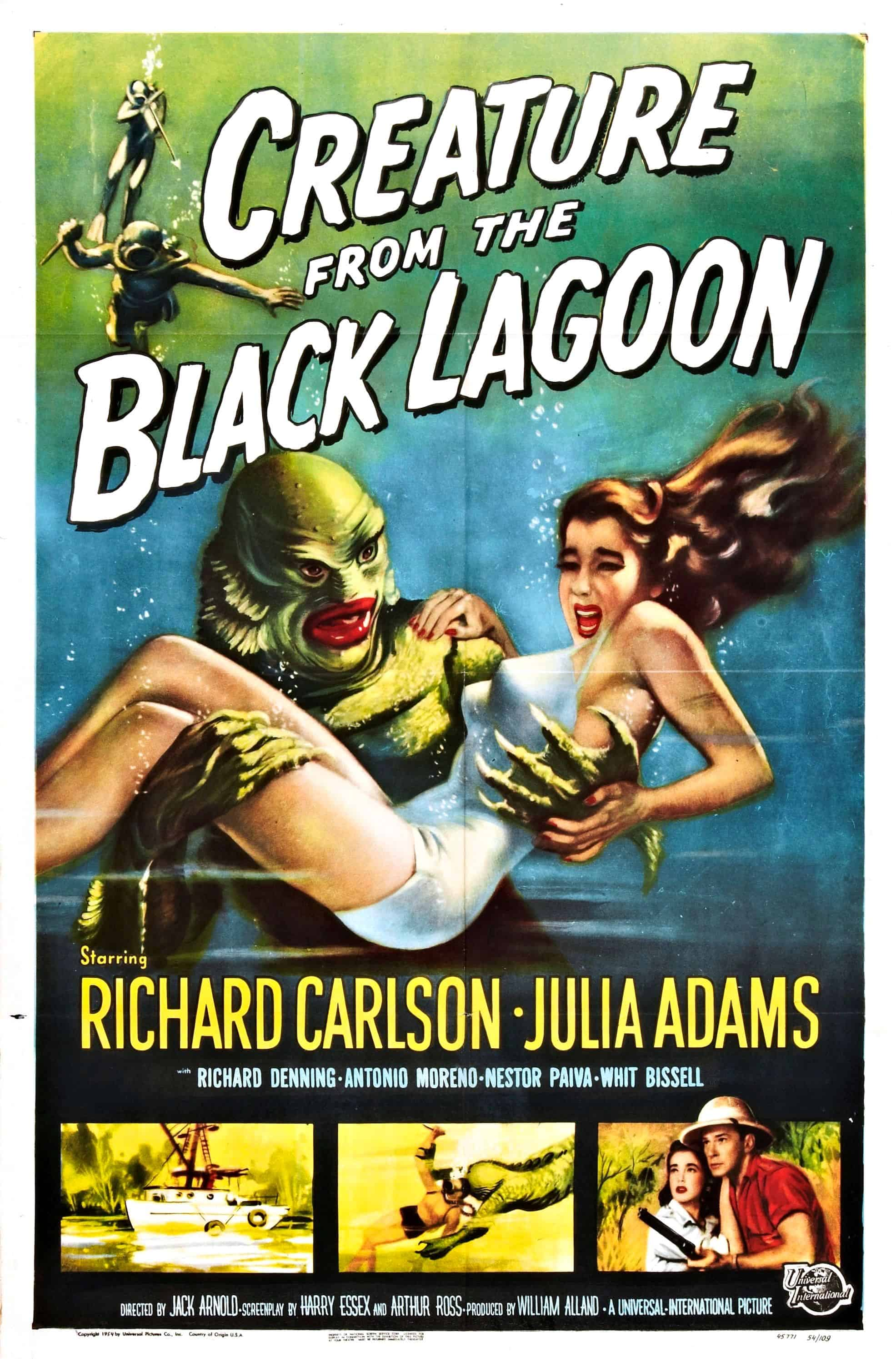 Movie Posters We Love: Creature from The Black Lagoon