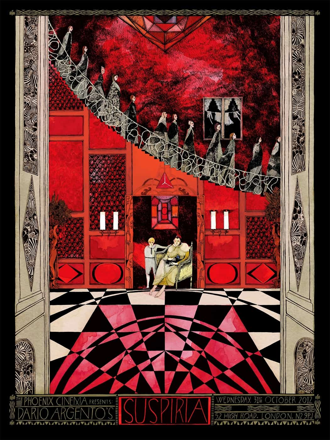 Movie Posters We Love: Suspiria