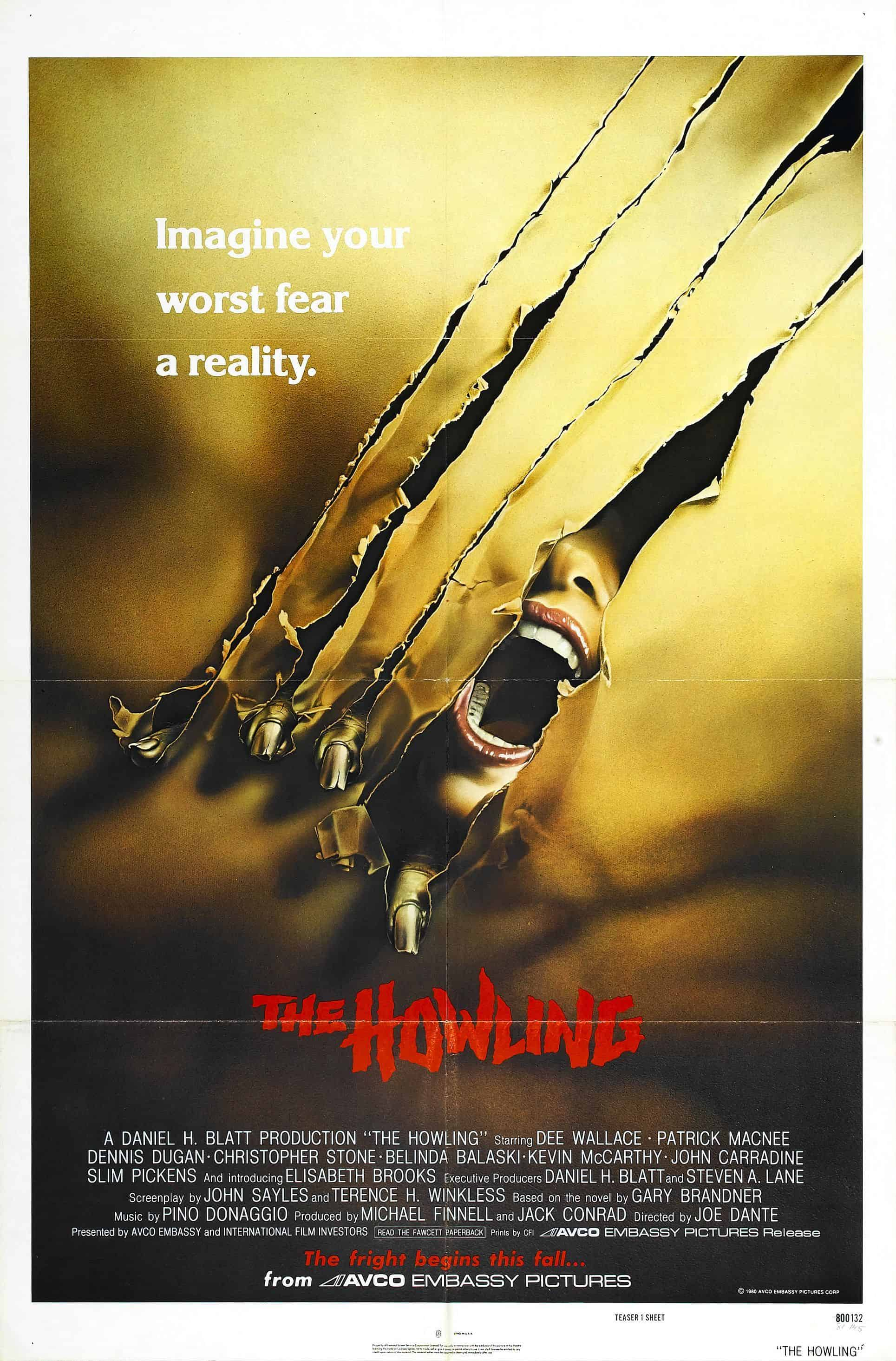 Movie Posters We Love: The Howling
