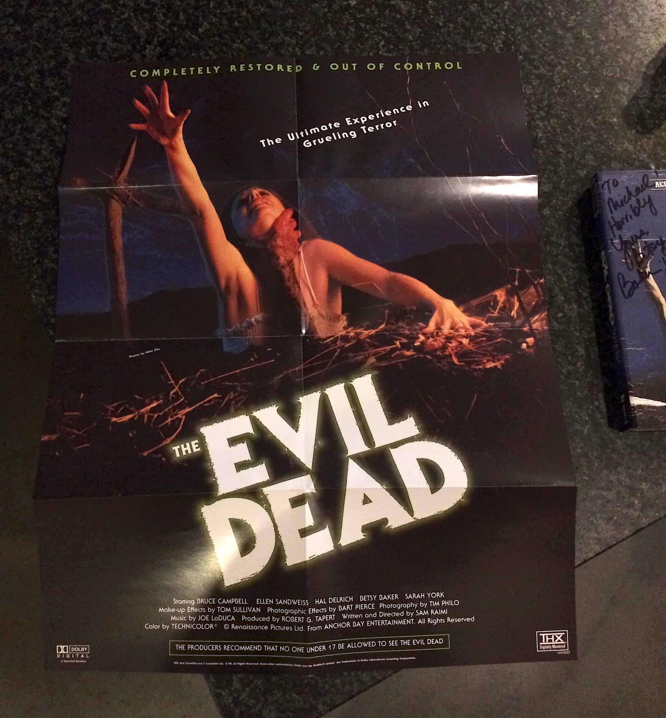 MOVIES POSTERS WE LOVE: The Evil Dead