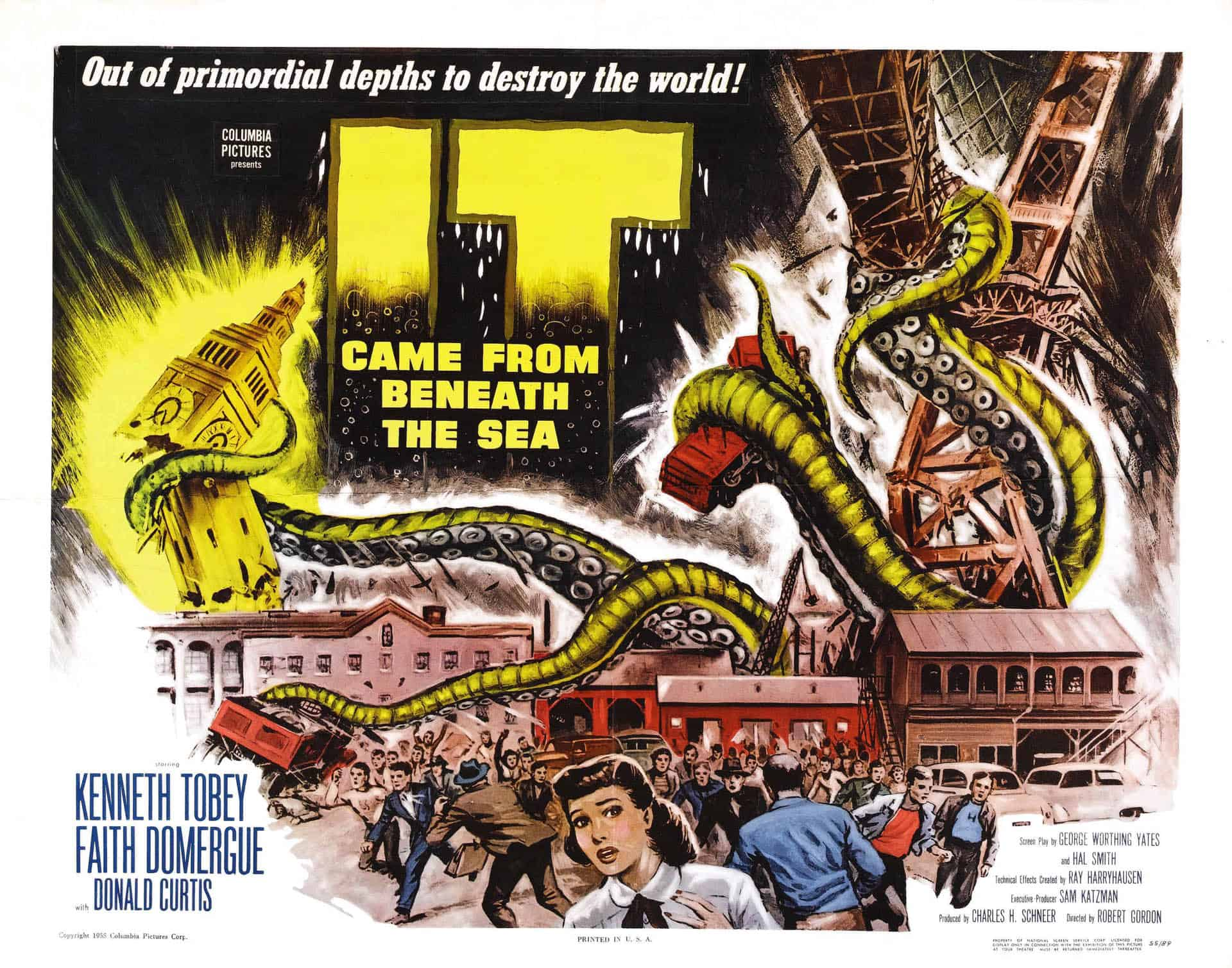 Movie Posters We Love: It Came From Beneath the Sea (1955)