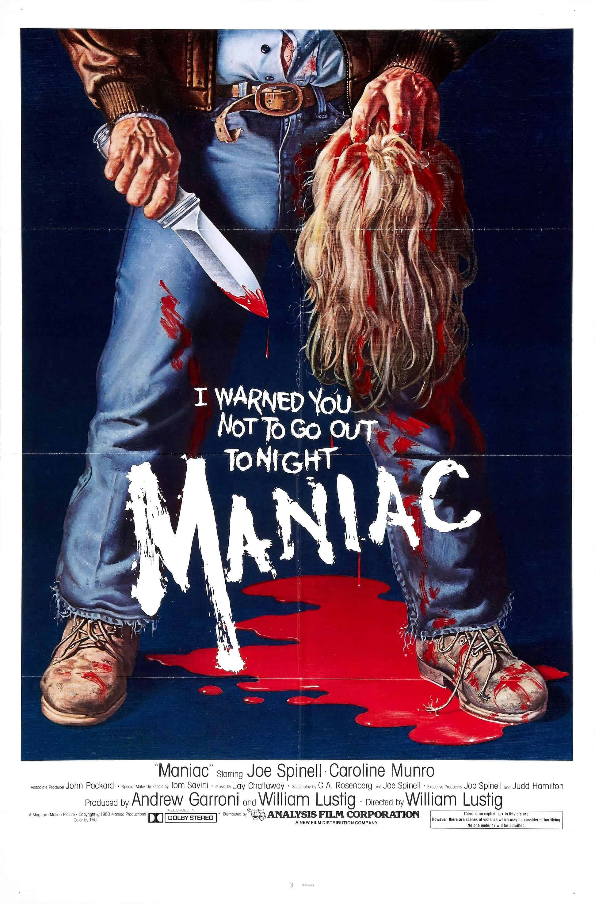 Movie Posters We Love:  Maniac (1980)