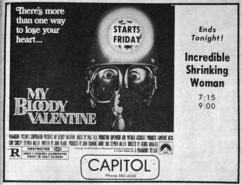 Happy Valentine's Day Horror Fans!