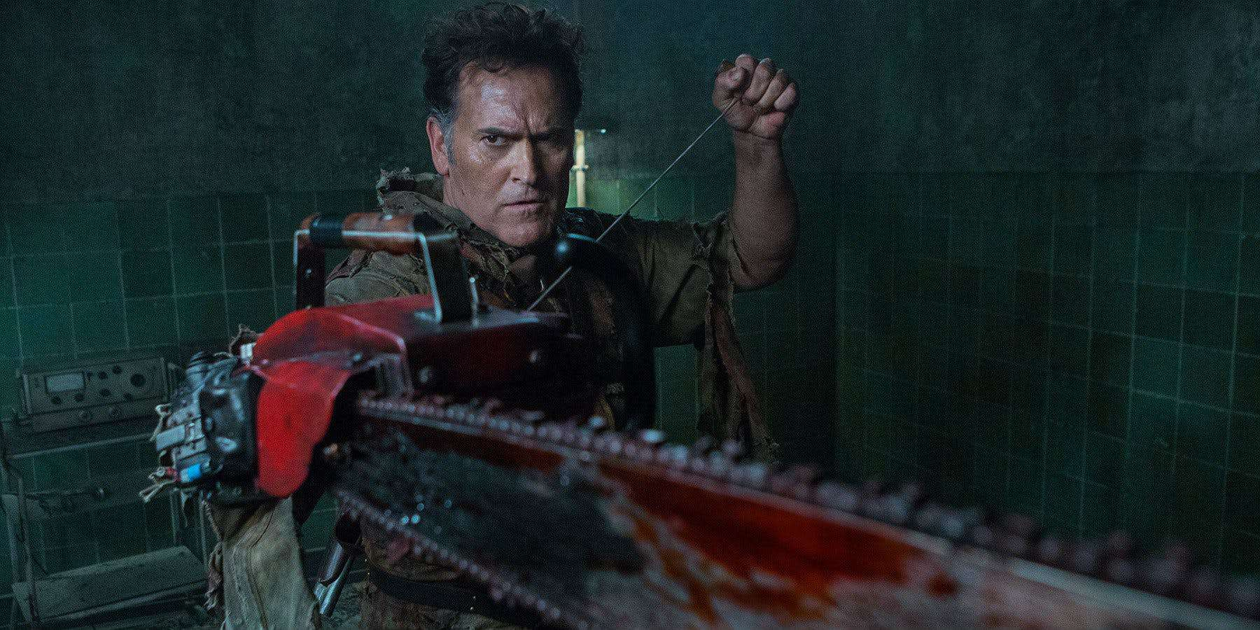 Horror TV News:  Ash vs. Evil Dead Season 3 kicks off this week!