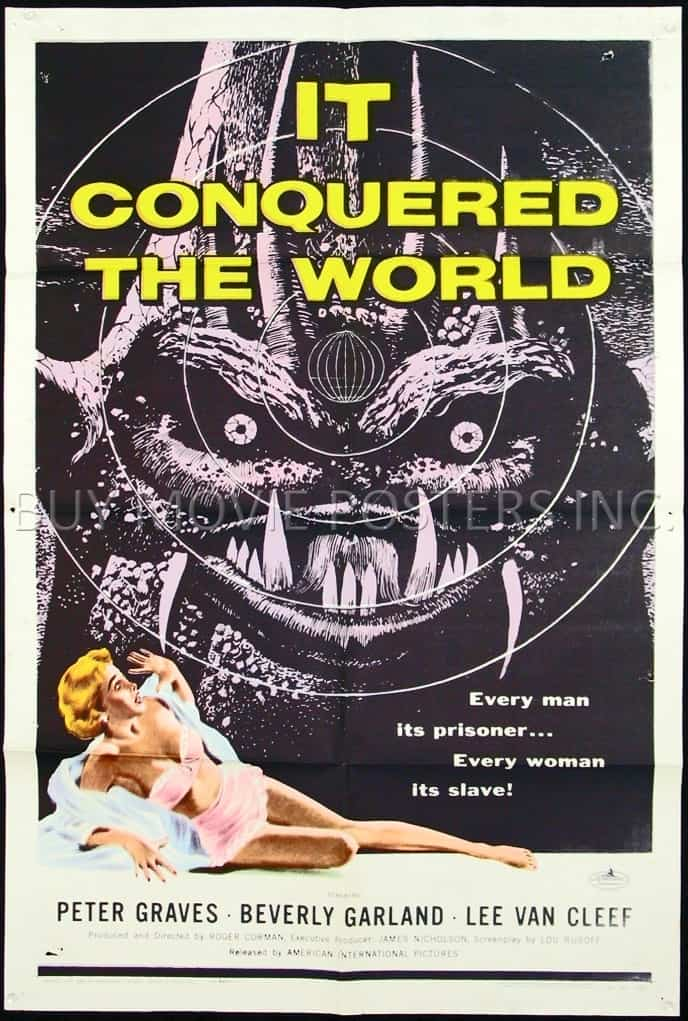 Horror Movie Posters We Love: It Conquered the World