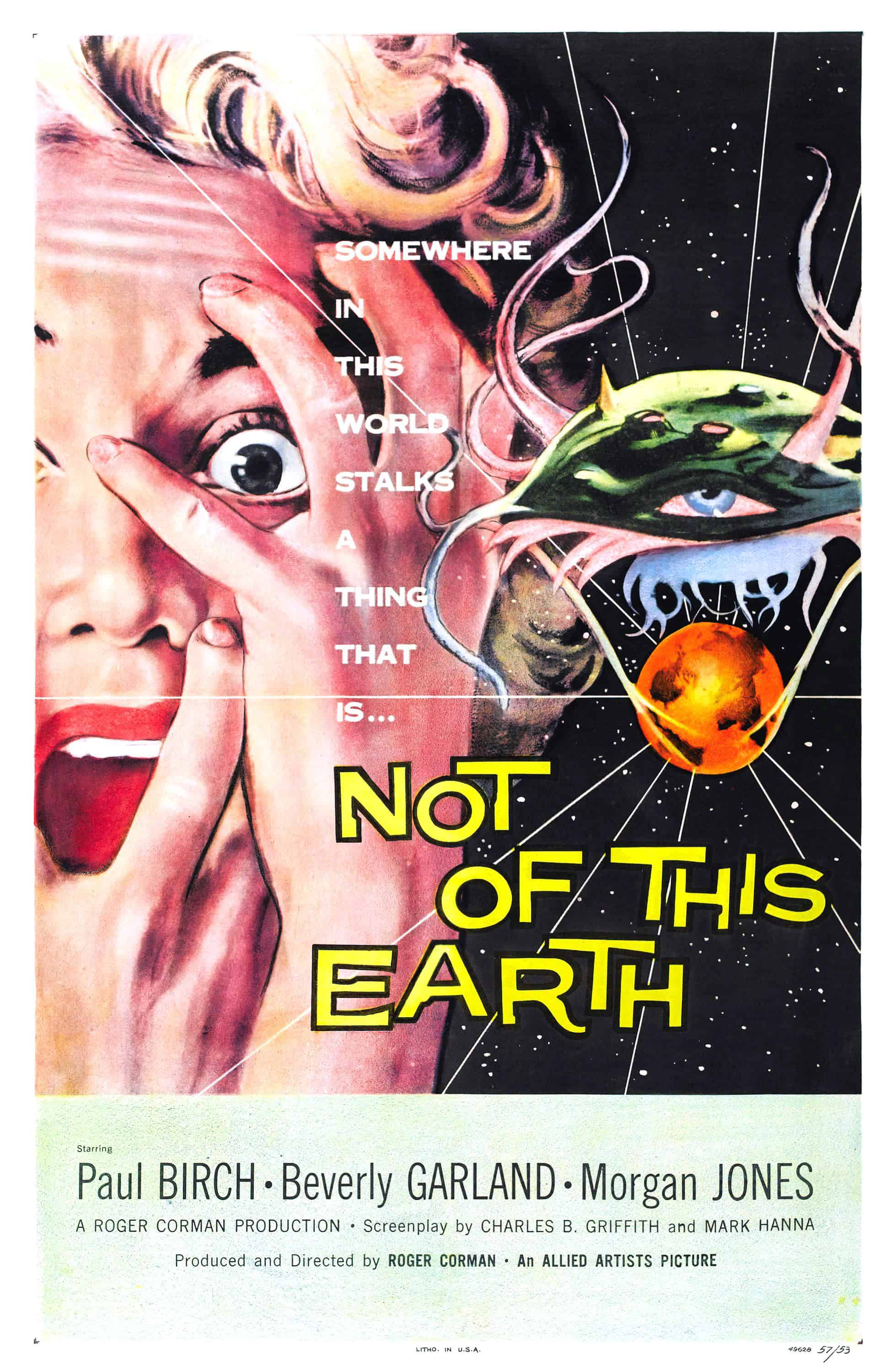 Movie Posters We Love: Not Of This Earth (1957)