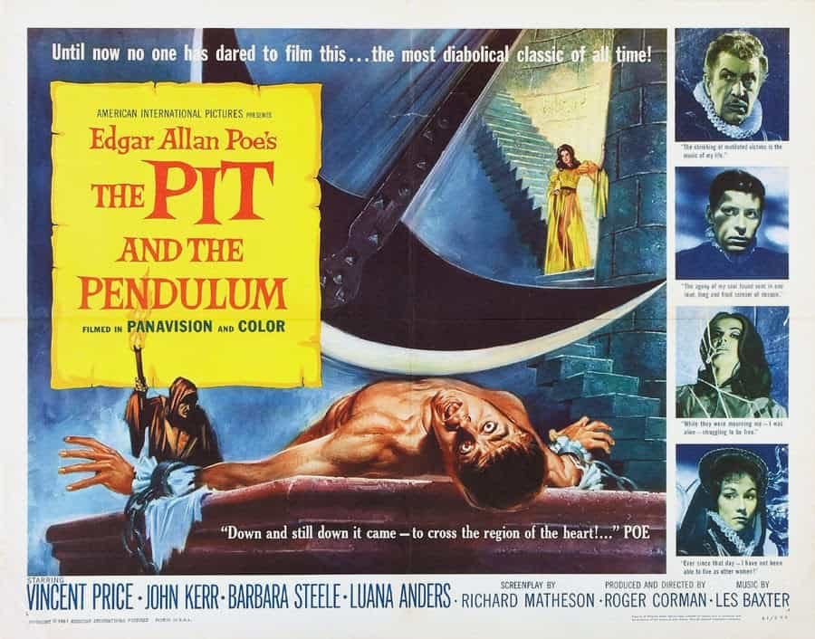 Movie Posters We Love: The Pit and the Pendulum (1961)