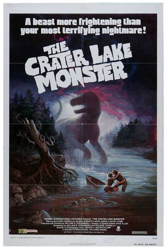 Mike's Review: the Crater Lake Monster (1977)