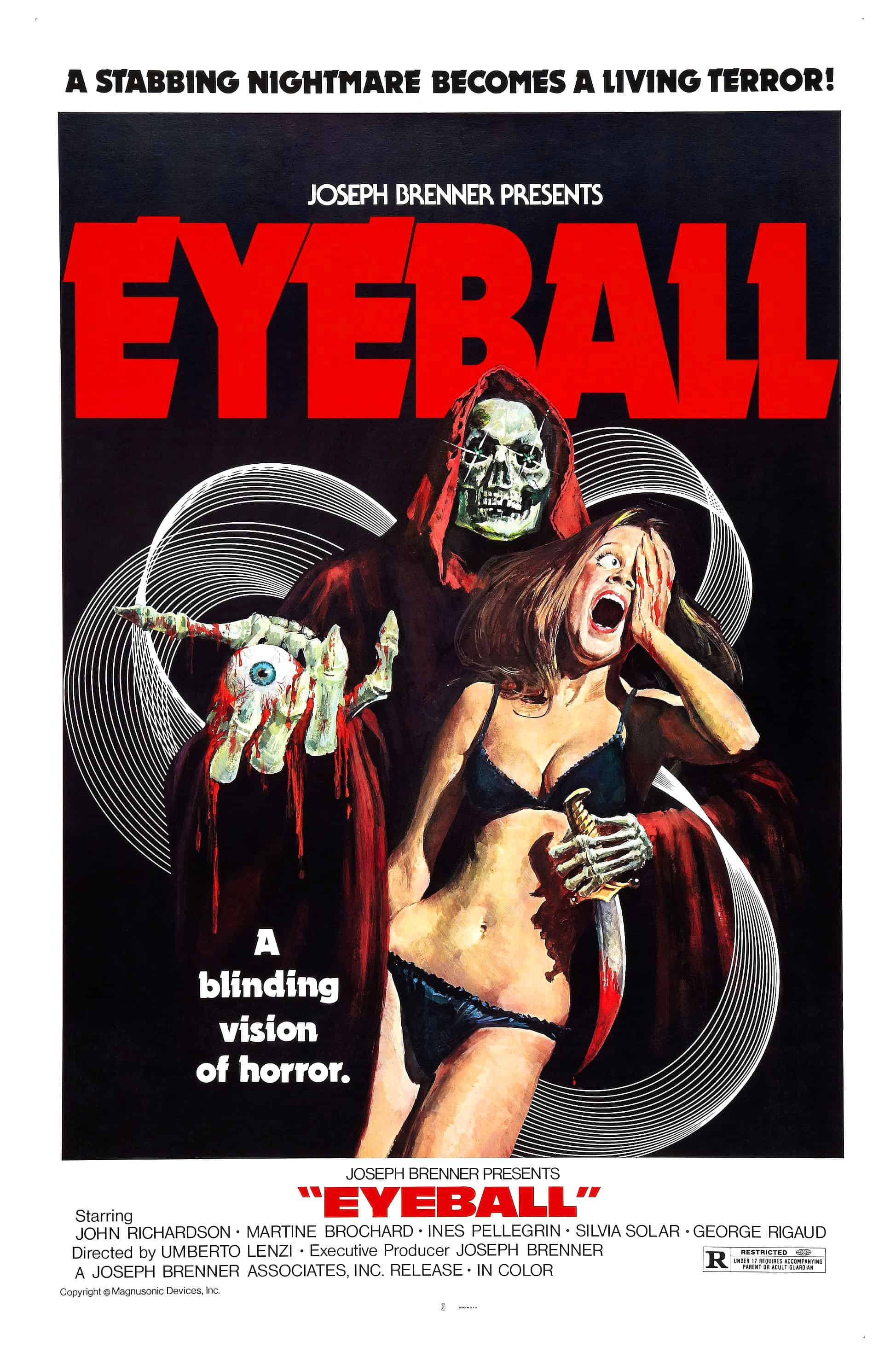 Movie Posters We Love: Eyeball (1975)