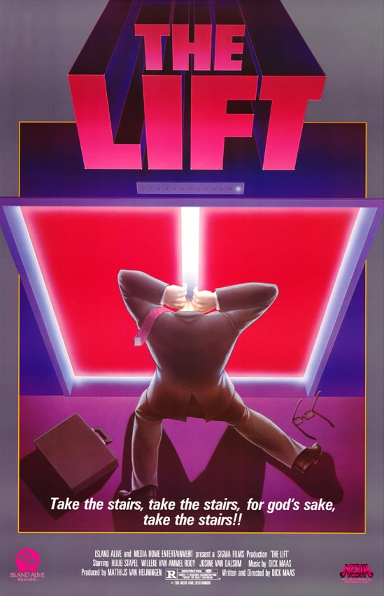 Movie Posters We Love: The Lift (1983)