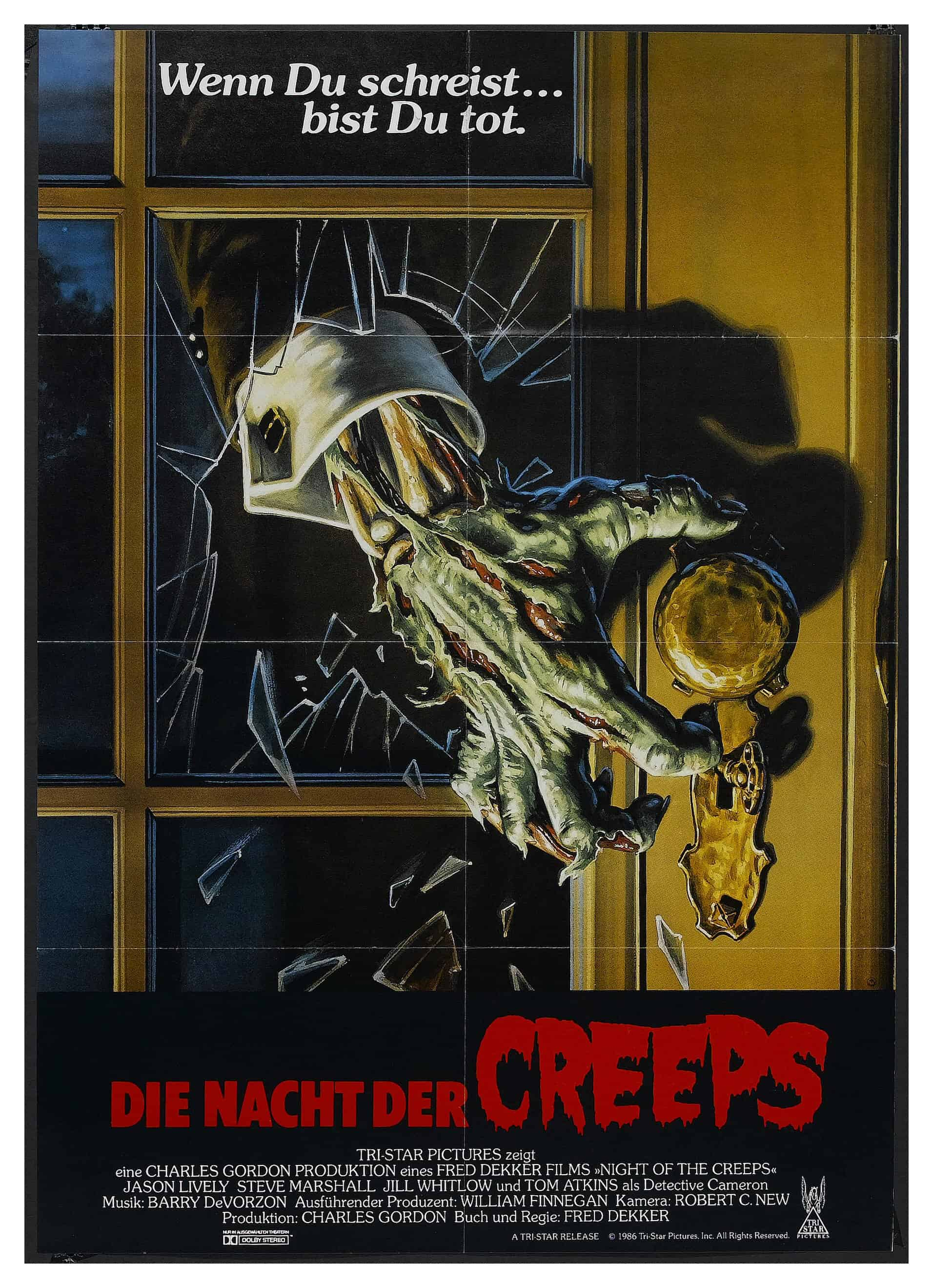 movie posters we love: Night of the Creeps (1986)