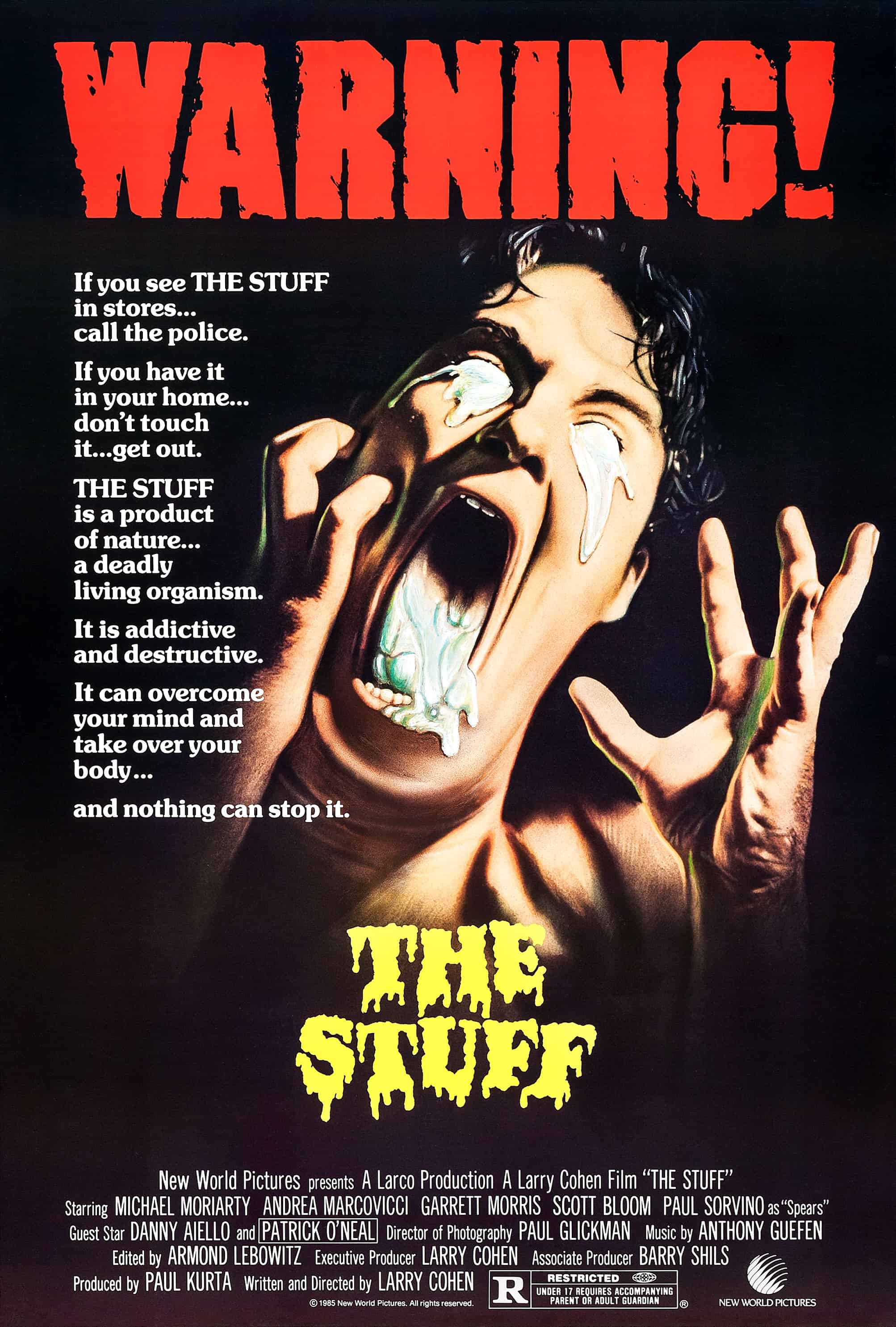 Movie Posters We Love: The Stuff (1985)