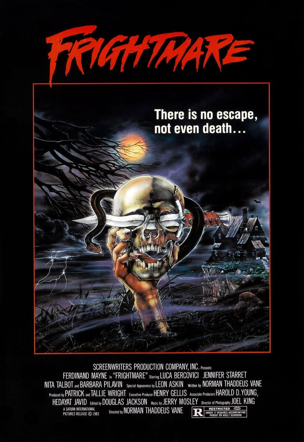 Movie Posters We Love: Frightmare (1983)