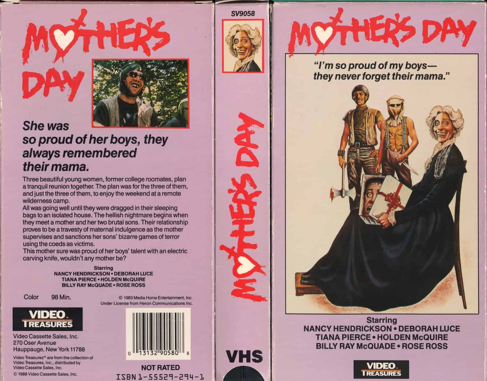 Movie Posters We Love: Mother's Day (1980)