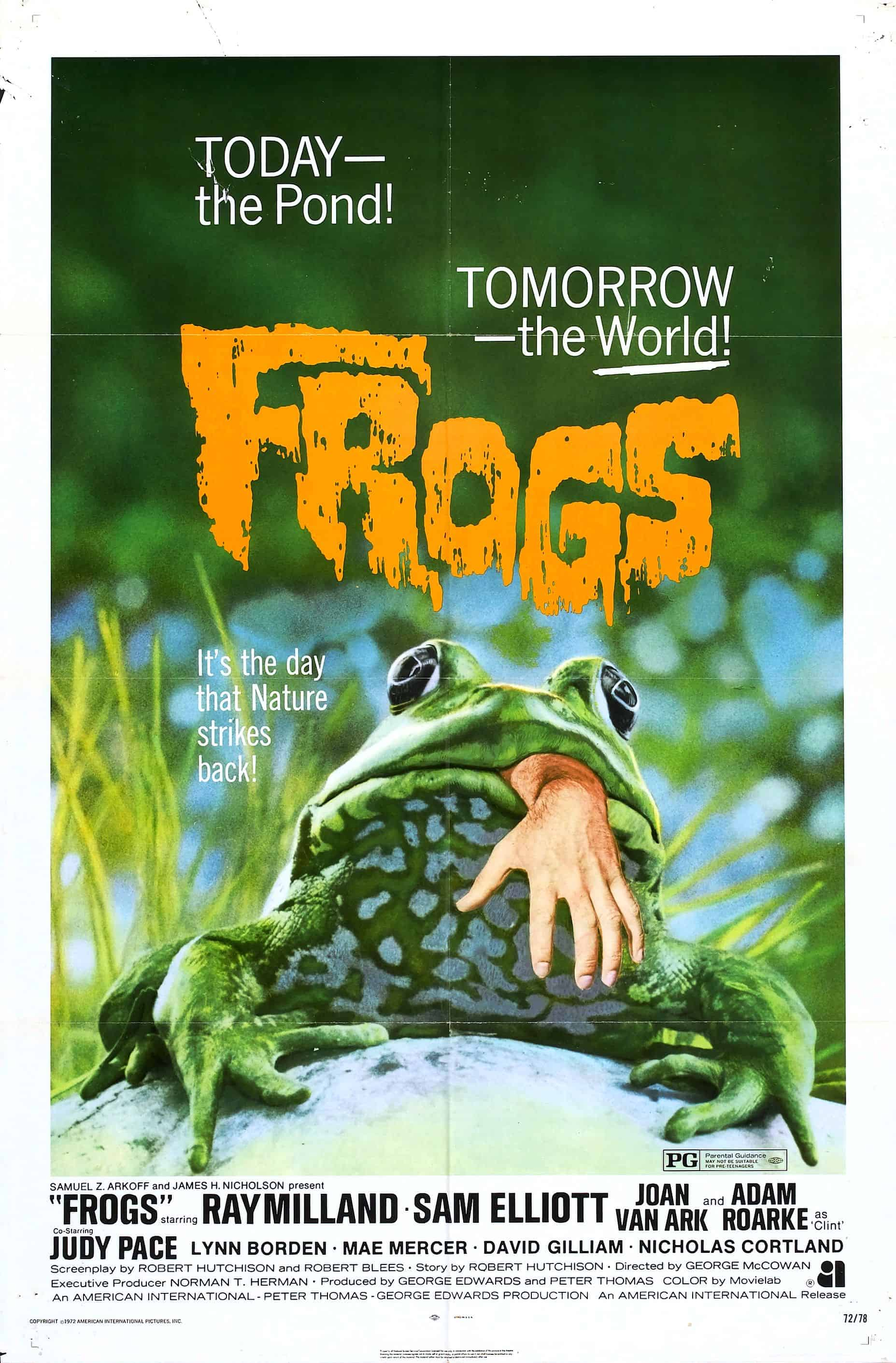 Movie Posters We Love: Frogs (1972)
