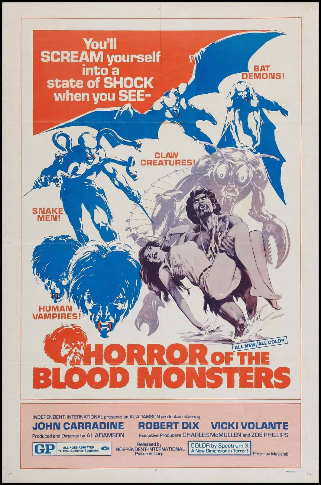 Movie Posters We Love: Horror of the Blood Monsters (1970)