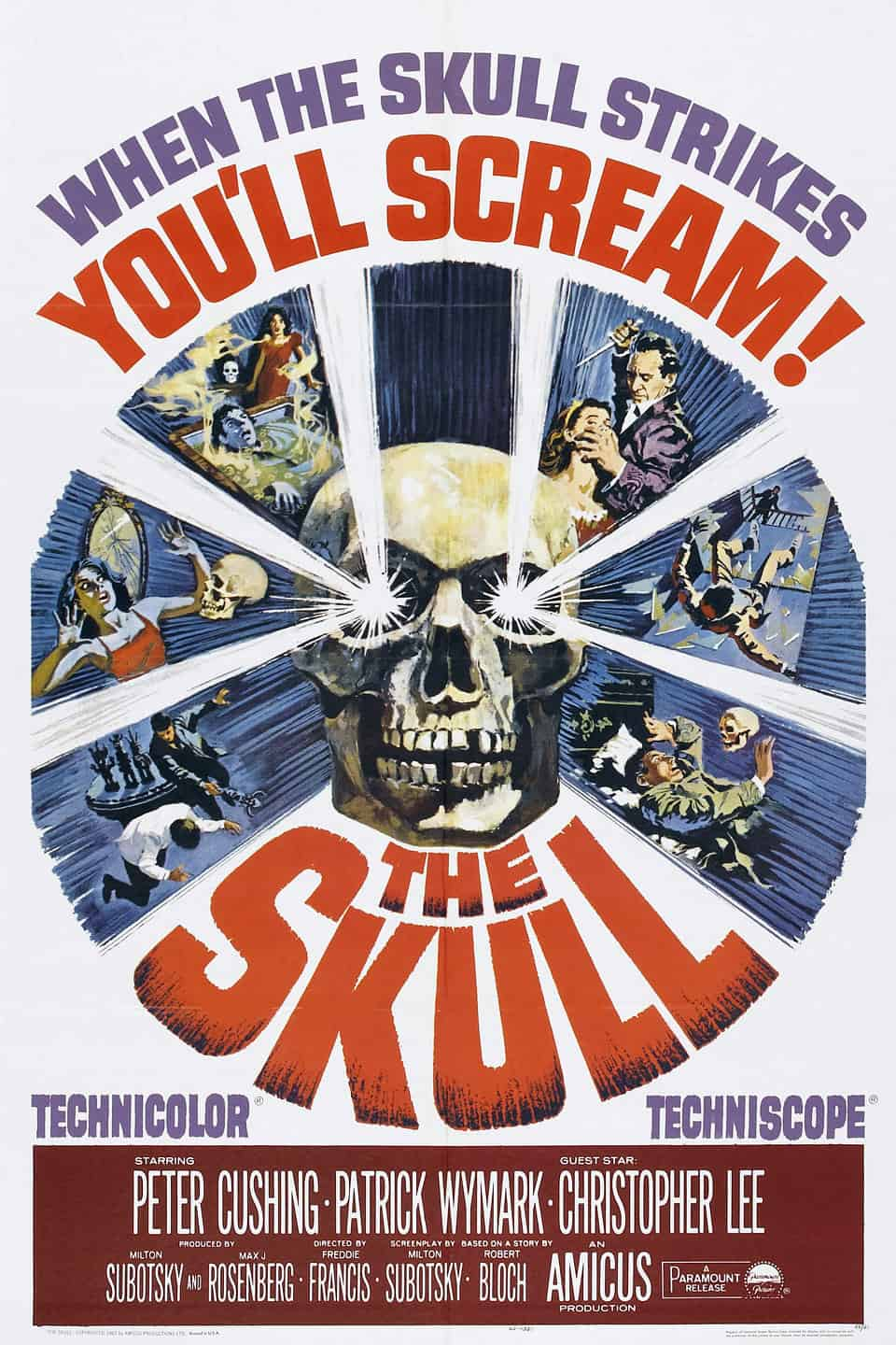 Movie Posters We Love: The Skull (1965)