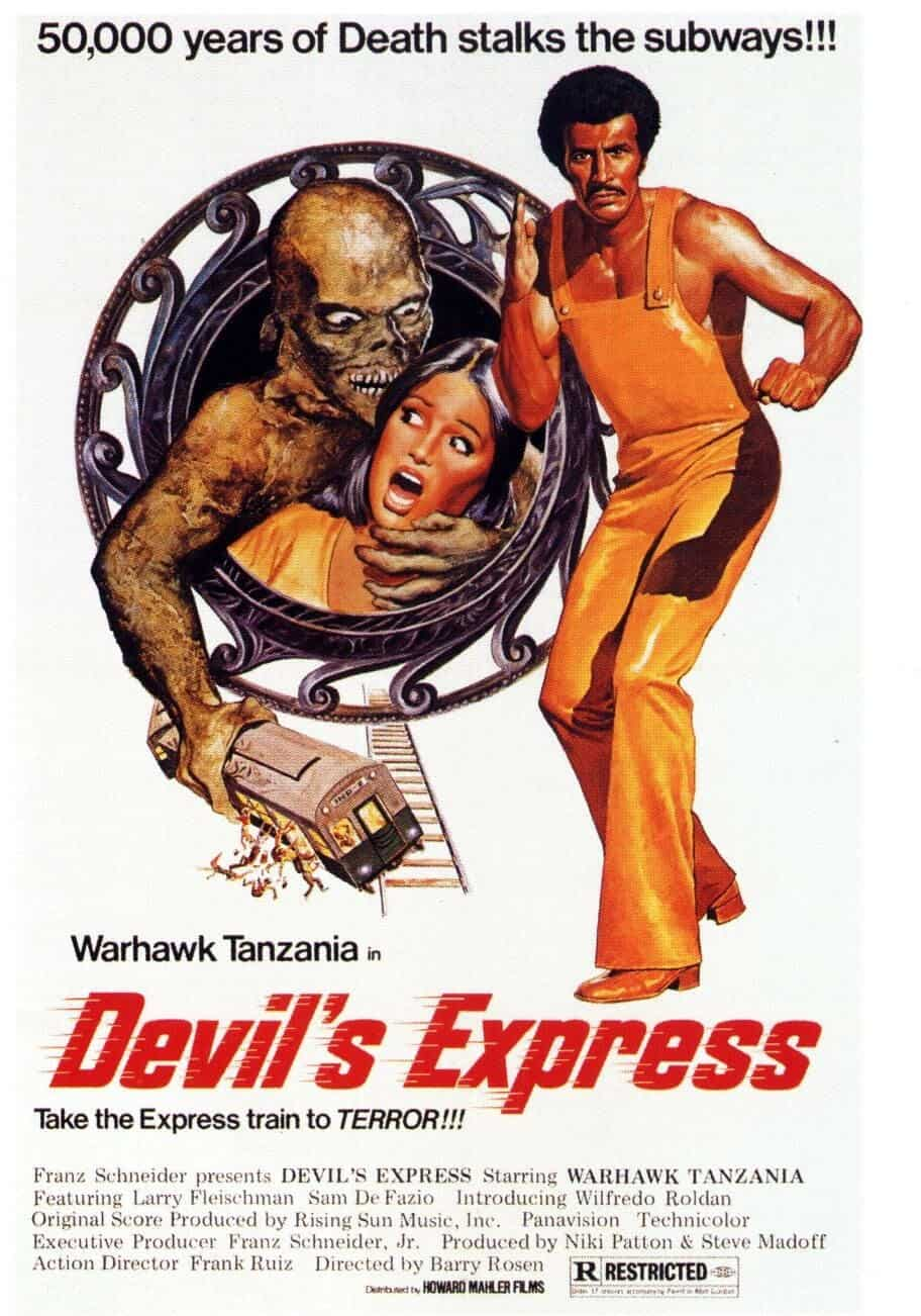 Movie Posters We Love: Devil's Express (1976)