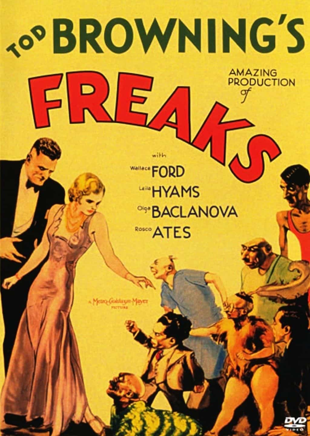 Freaks Movie Poster – The Scariest Things