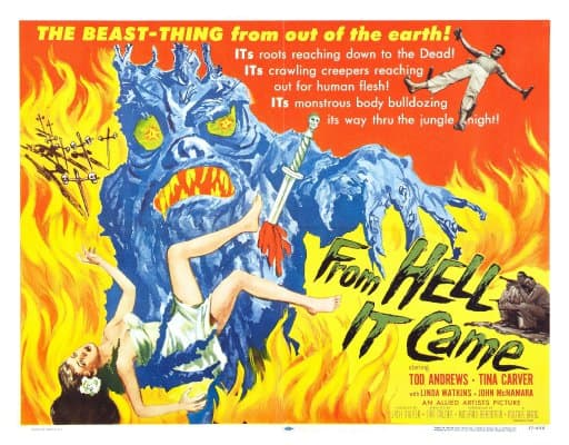 Eric's Review: From Hell it Came (1957)
