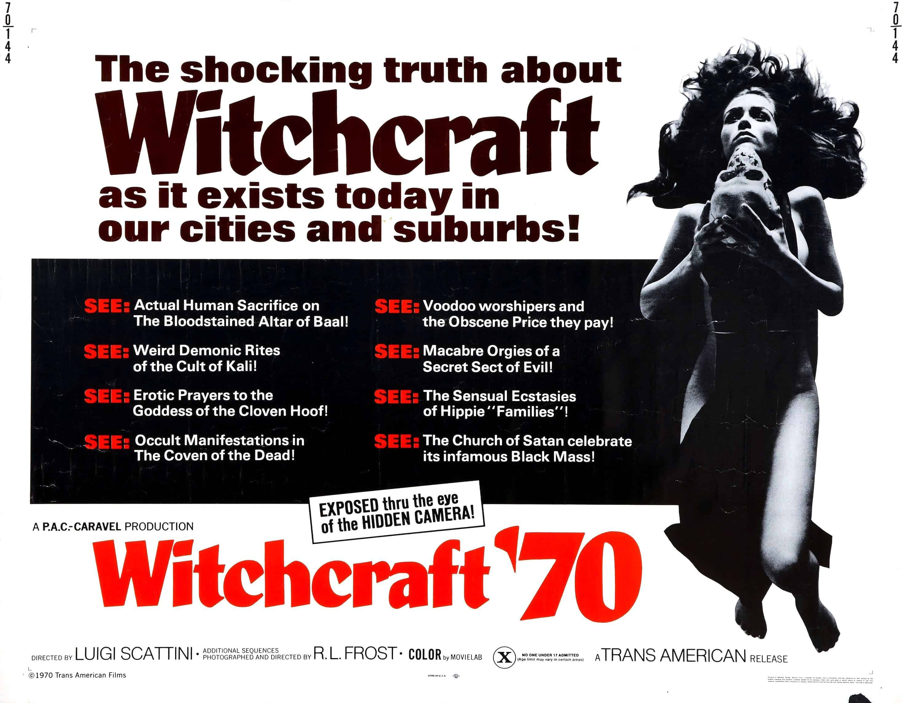 Movie Posters We Love: Witchcraft 70 (1970)