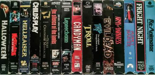 Dead List: 10 Great VHS Box Covers