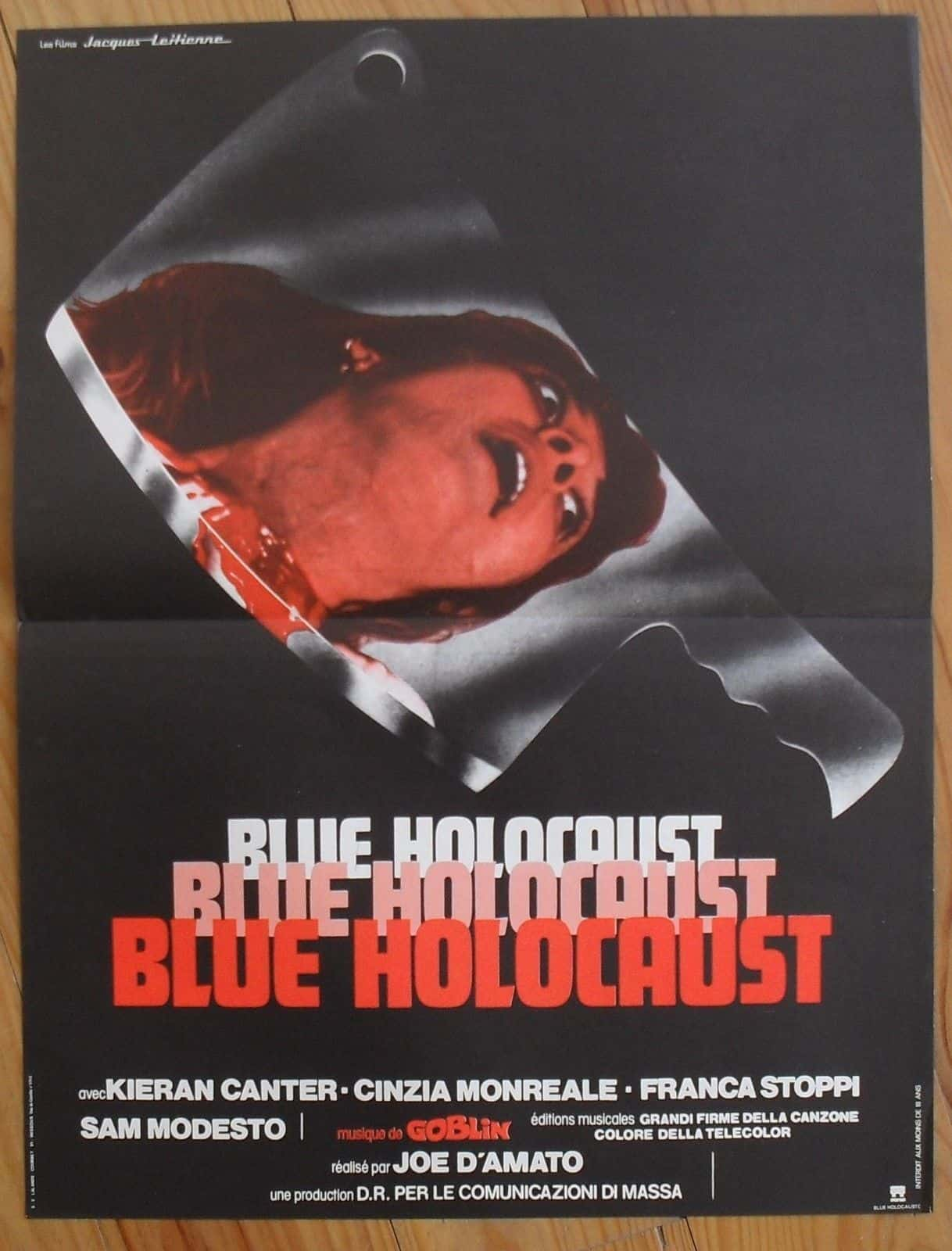 Movie Posters We Love: Blue Holocaust (1979)