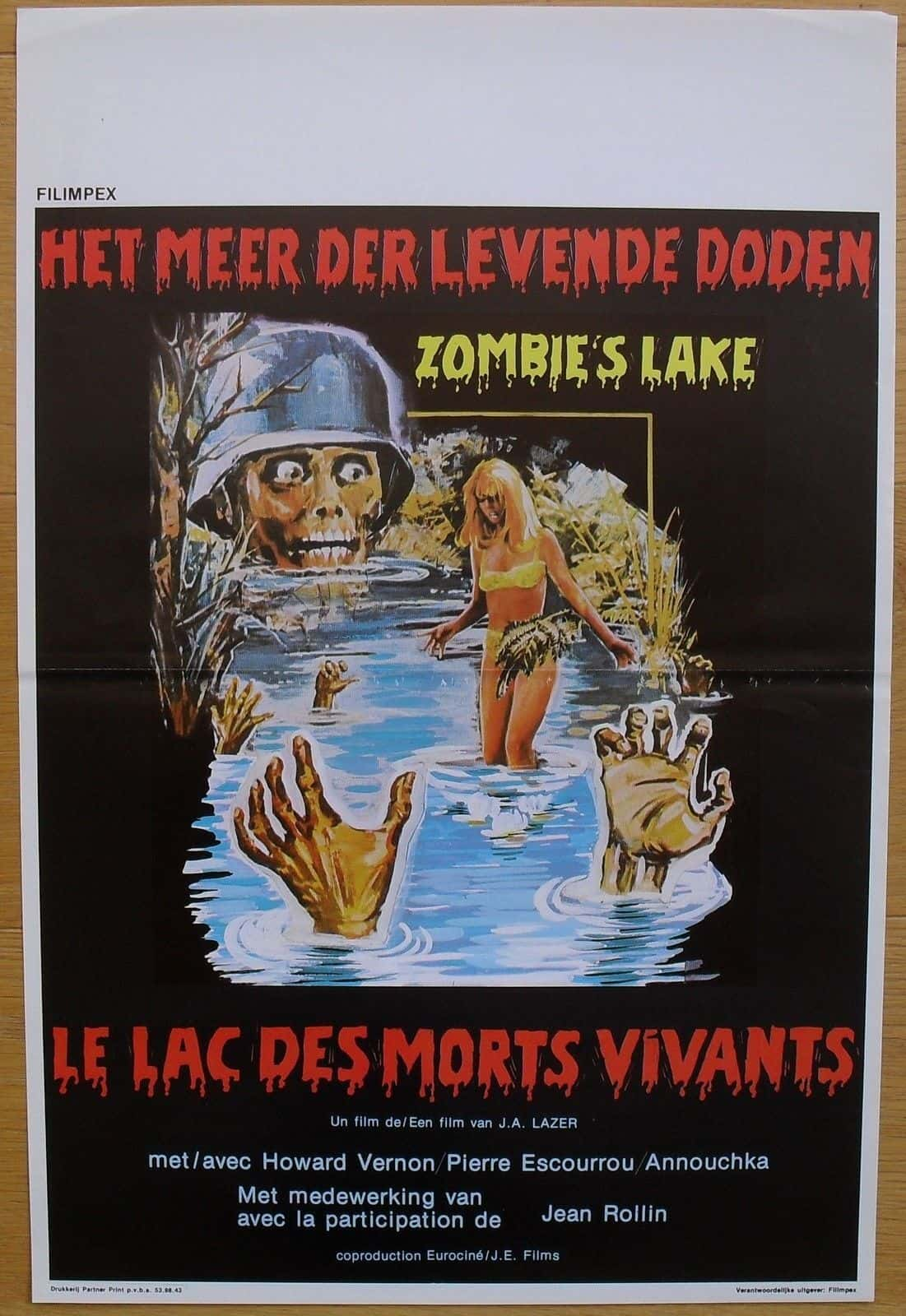Movie Posters We Love: Zombie Lake (1981)