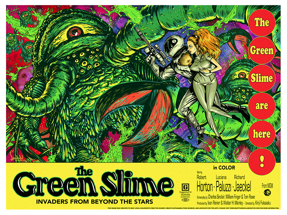 Mike's Review: The Green Slime (1968)
