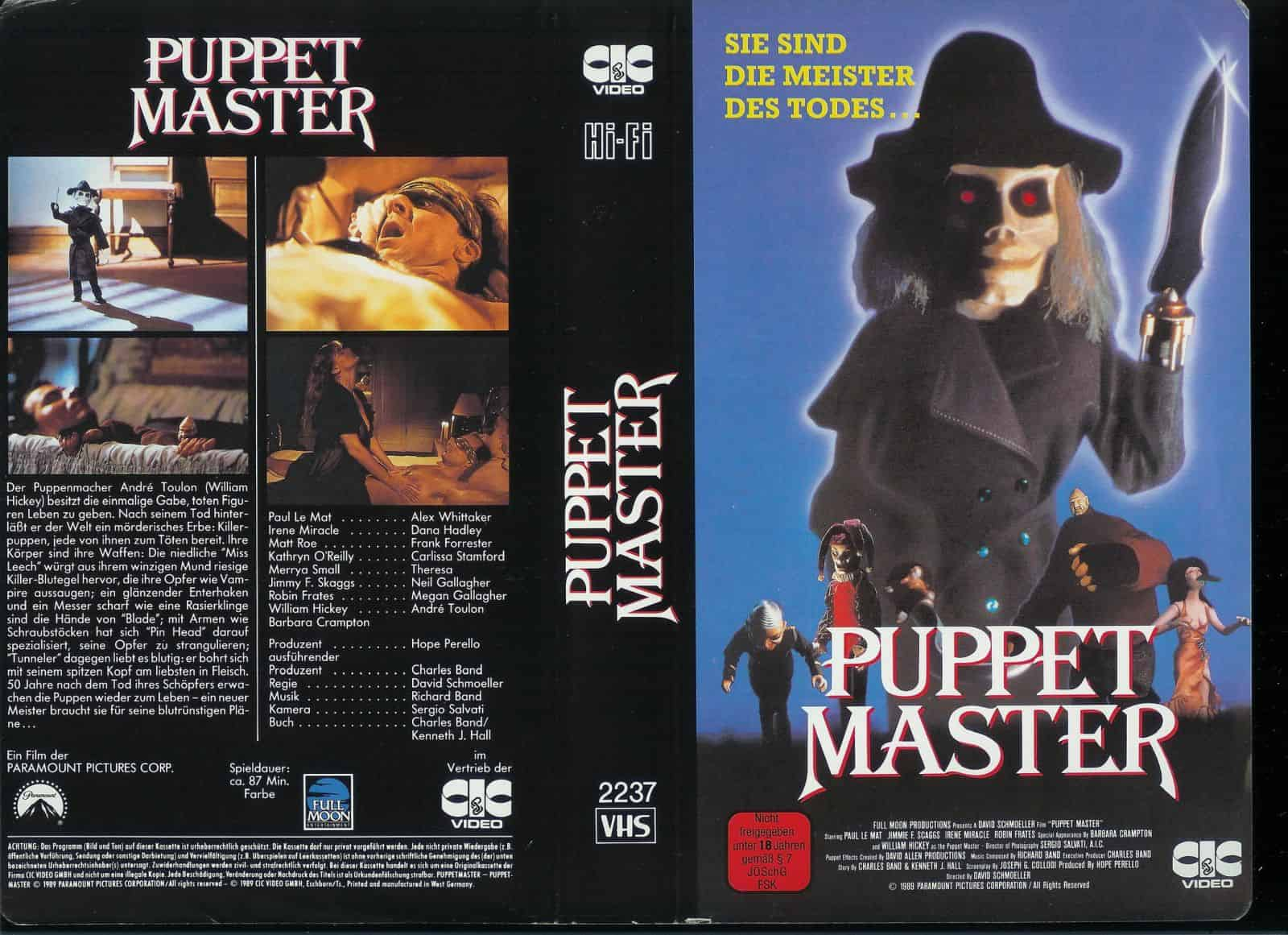 Mike's Review: Puppet Master (1989)