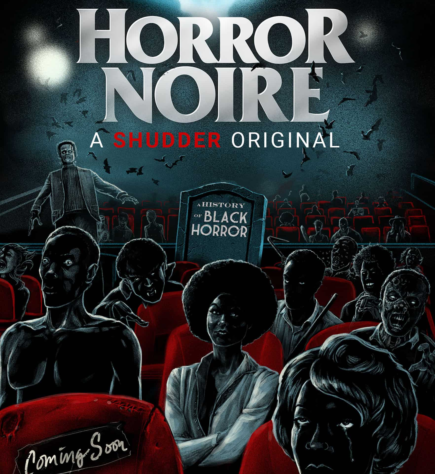 Horror Movie News:  Horror Noire Coming Soon to Shudder