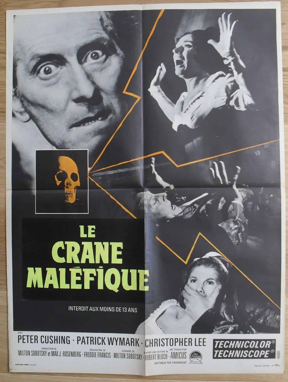Movie Posters We Love: Le Crane Malifique (1965)