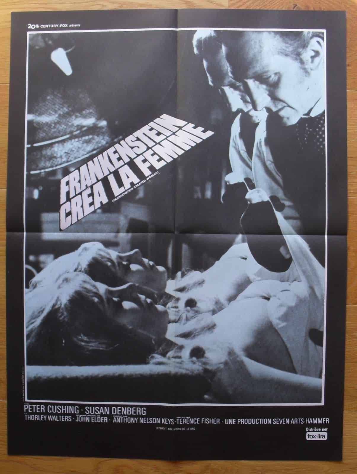 Movie Posters We Love: Frankenstein Created Woman (1967)