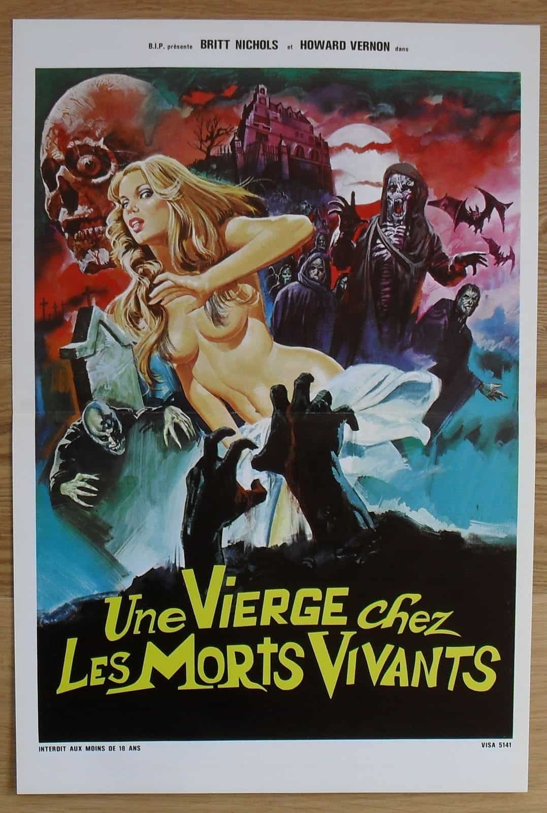 Movie Posters We Love: A Virgin Among the Living Dead (1973)