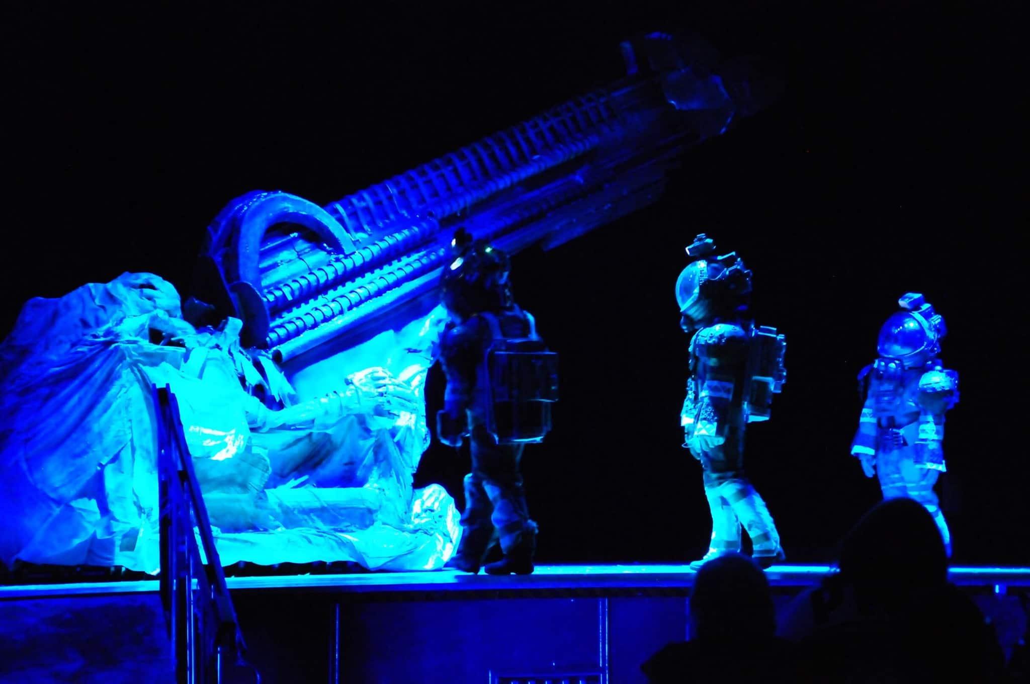 NJ High School Thespians create Alien: The Play