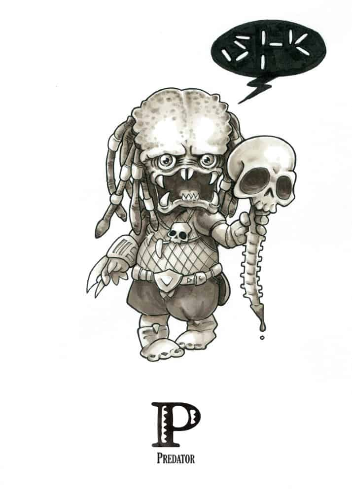 Horror Infographics: The Tiny Creatures Alphabet of David G. Forés