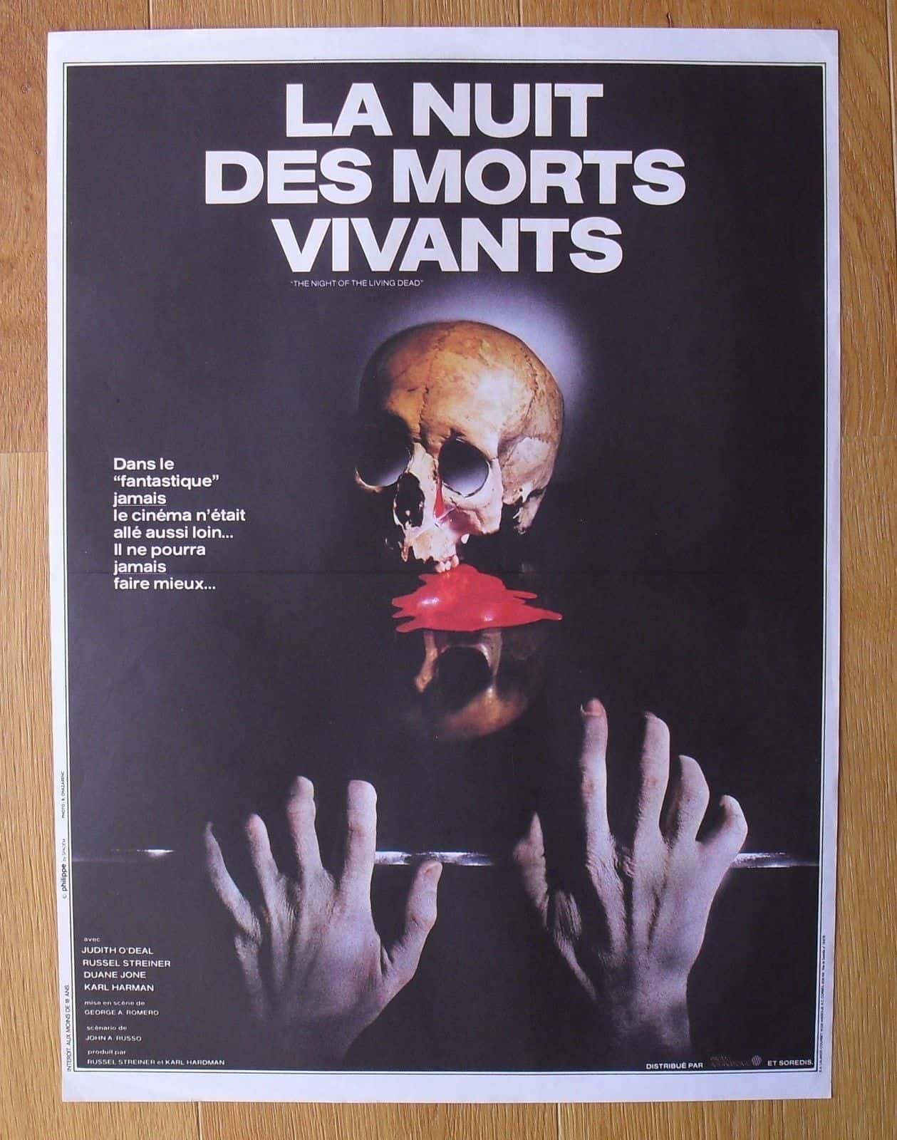 Movie Posters We Love: La Nuit des Morts Vivants (Night of the Living Dead 1968)