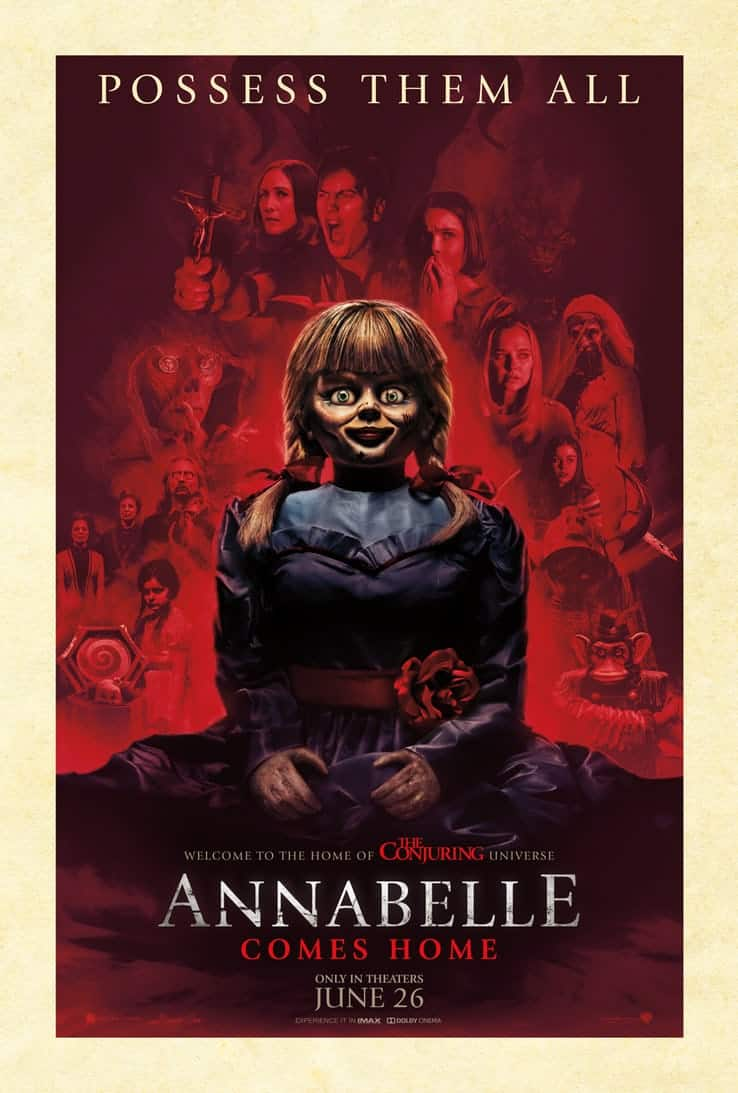 Movie News: Annabelle Comes Home Trailer!