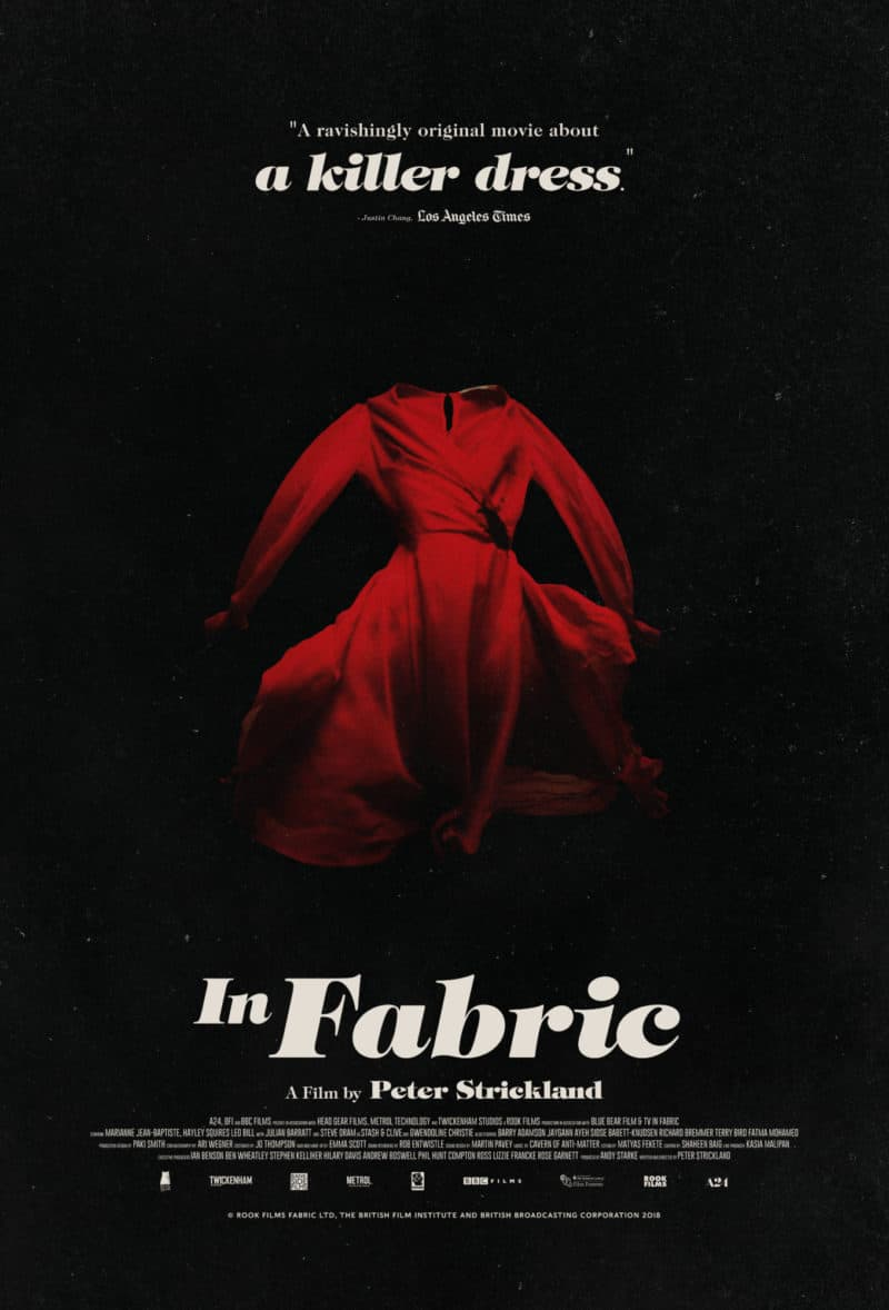 Liz's Review: In Fabric (2018)