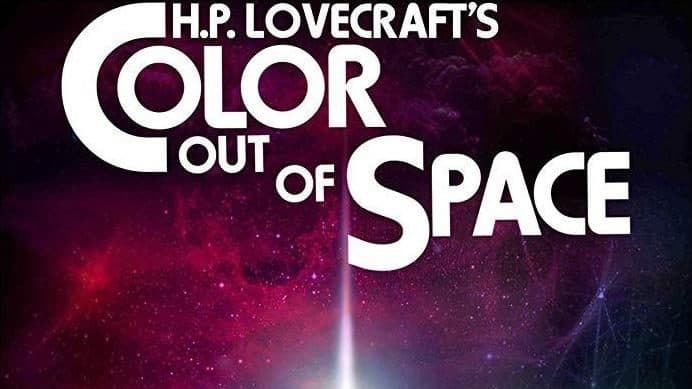 Poster reveal for Color Out Of Space (2019)
