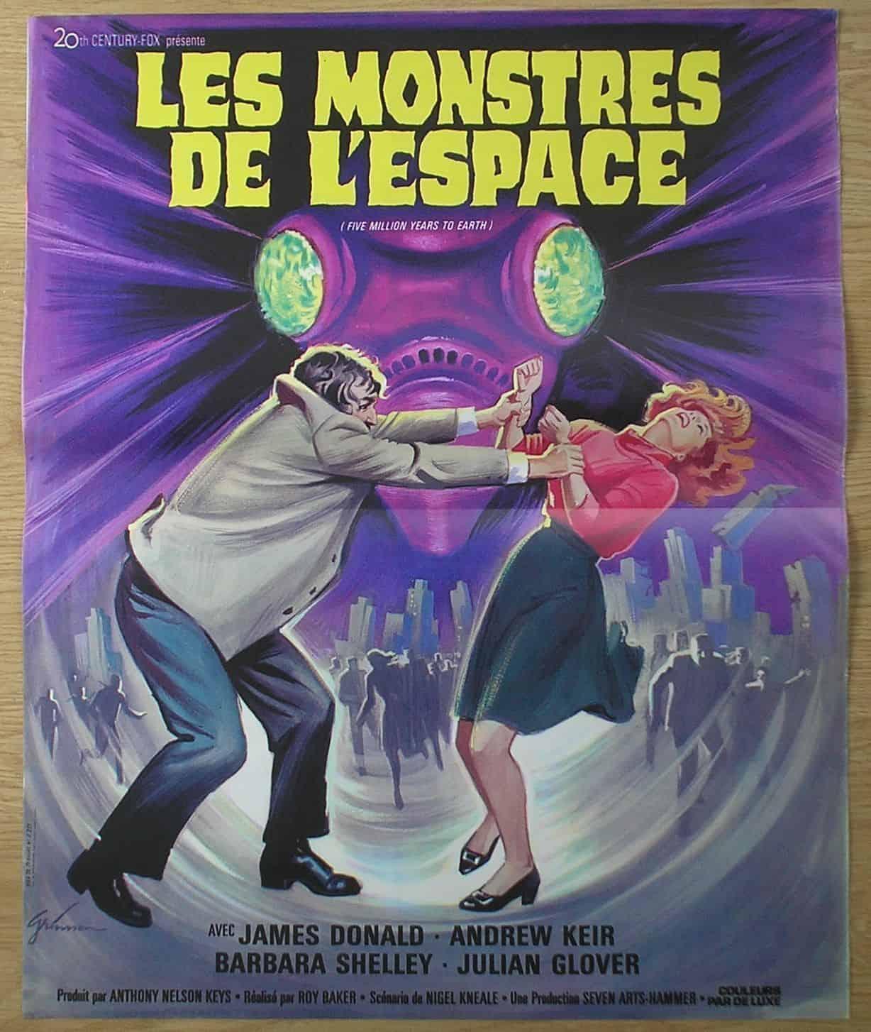 Movie Posters We Love: Les Monstres de l'espace (1967)
