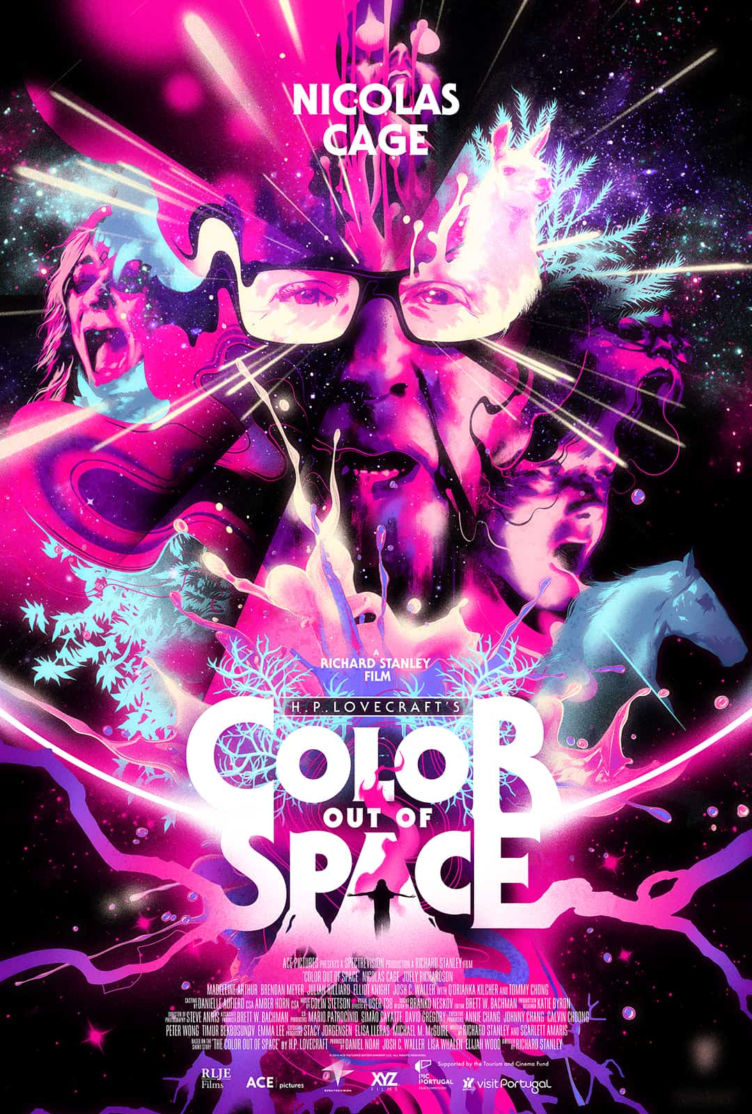 Trailer Alert:  Color Out Of Space (2020)