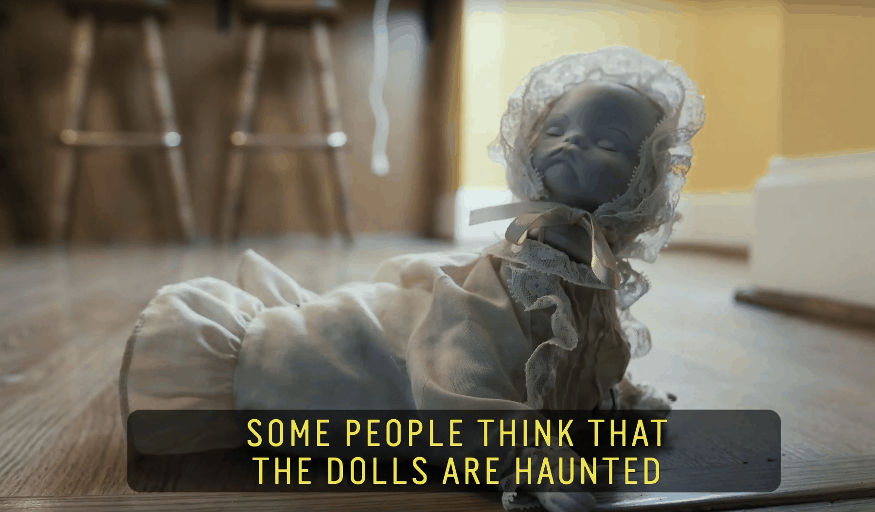 Creepy Doll Video from Our Friends at Unsettling Toys