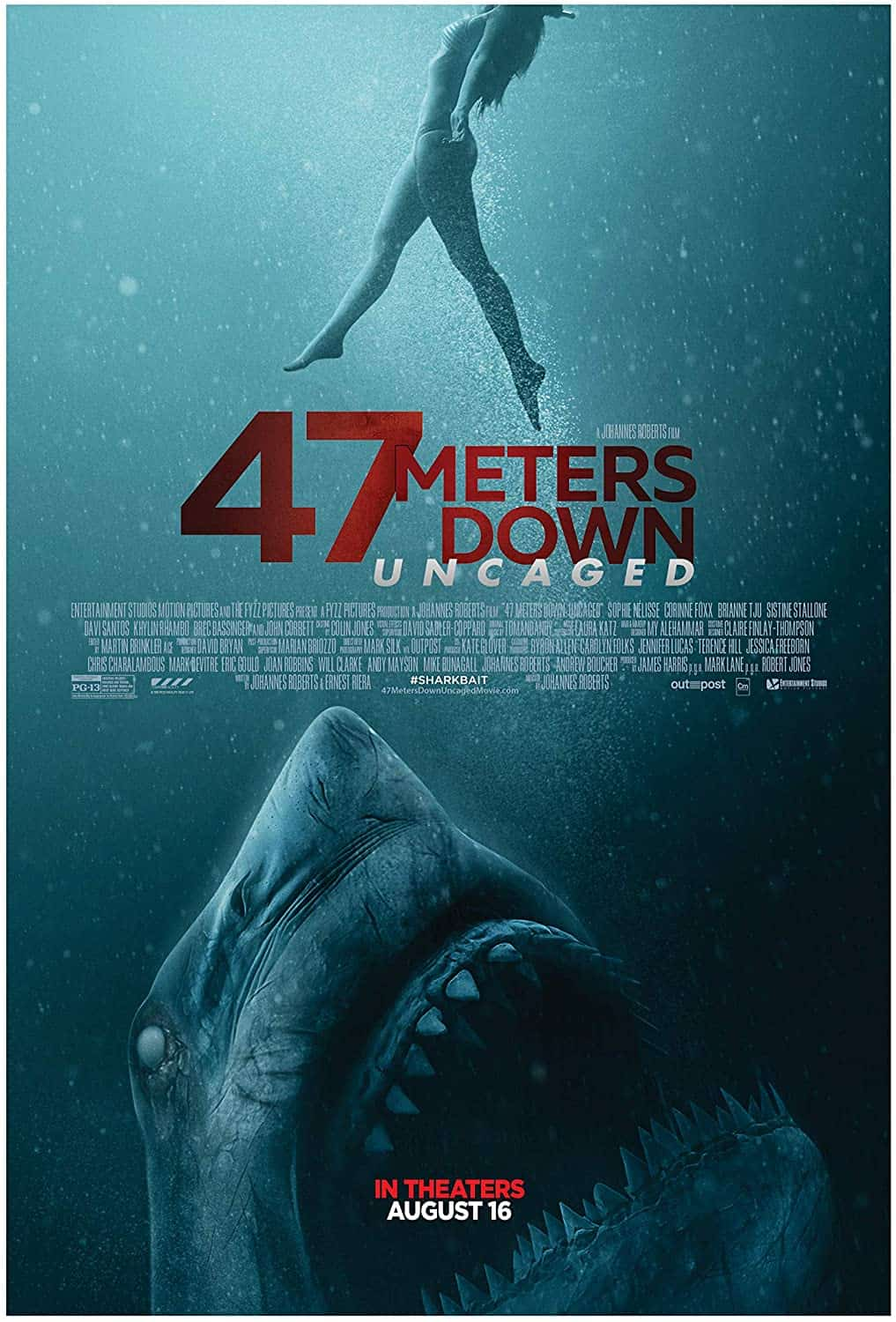 Mike's Review: 47 Meters Down: Uncaged (2019)