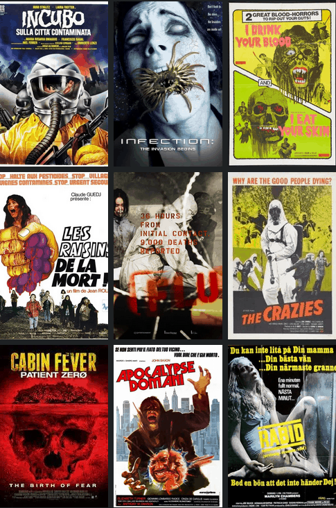 Movie Posters We Love: The BEST Pandemic Horror Movie Posters