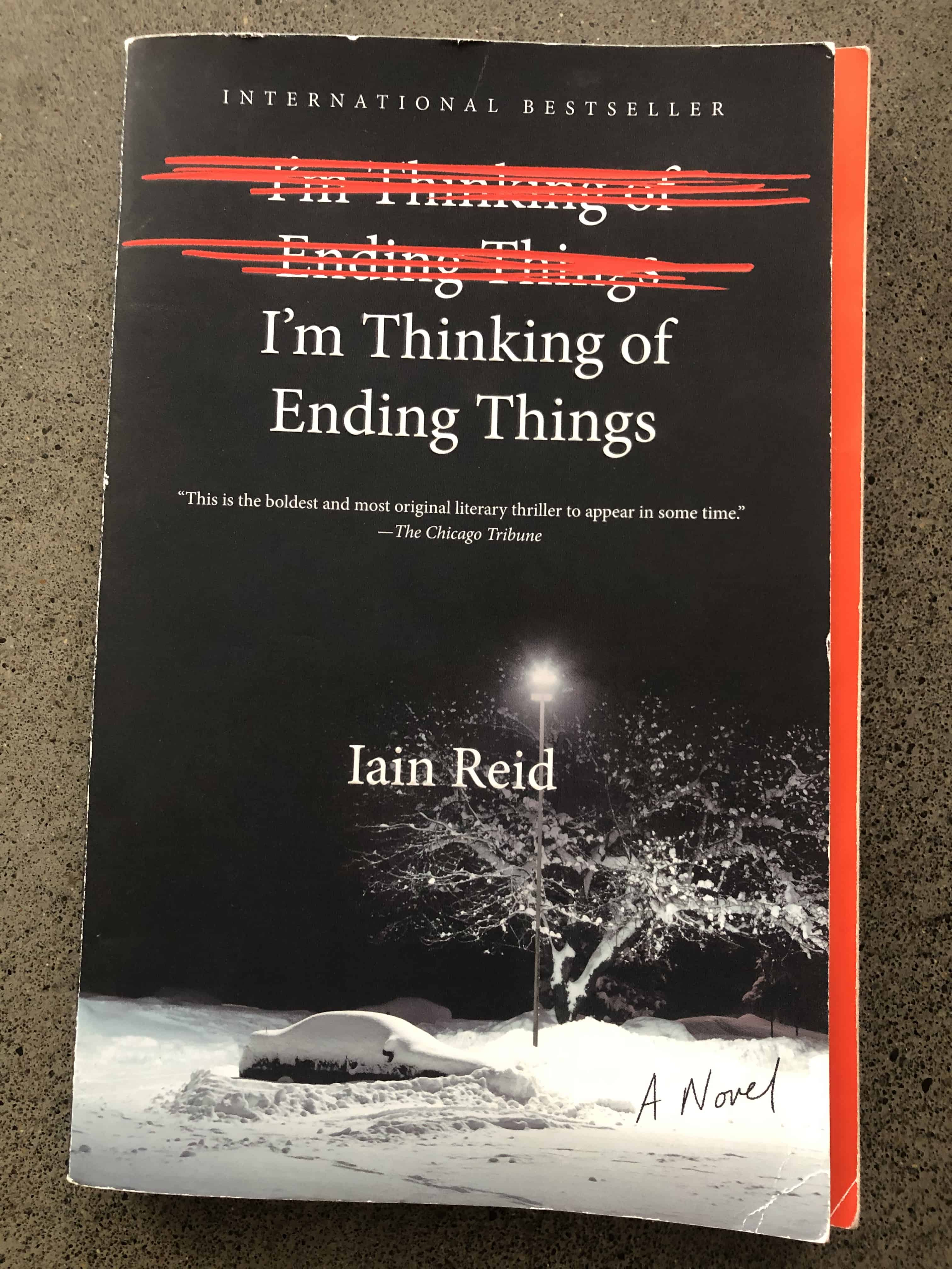 Mike's Book Report: I'm Thinking of Ending Things