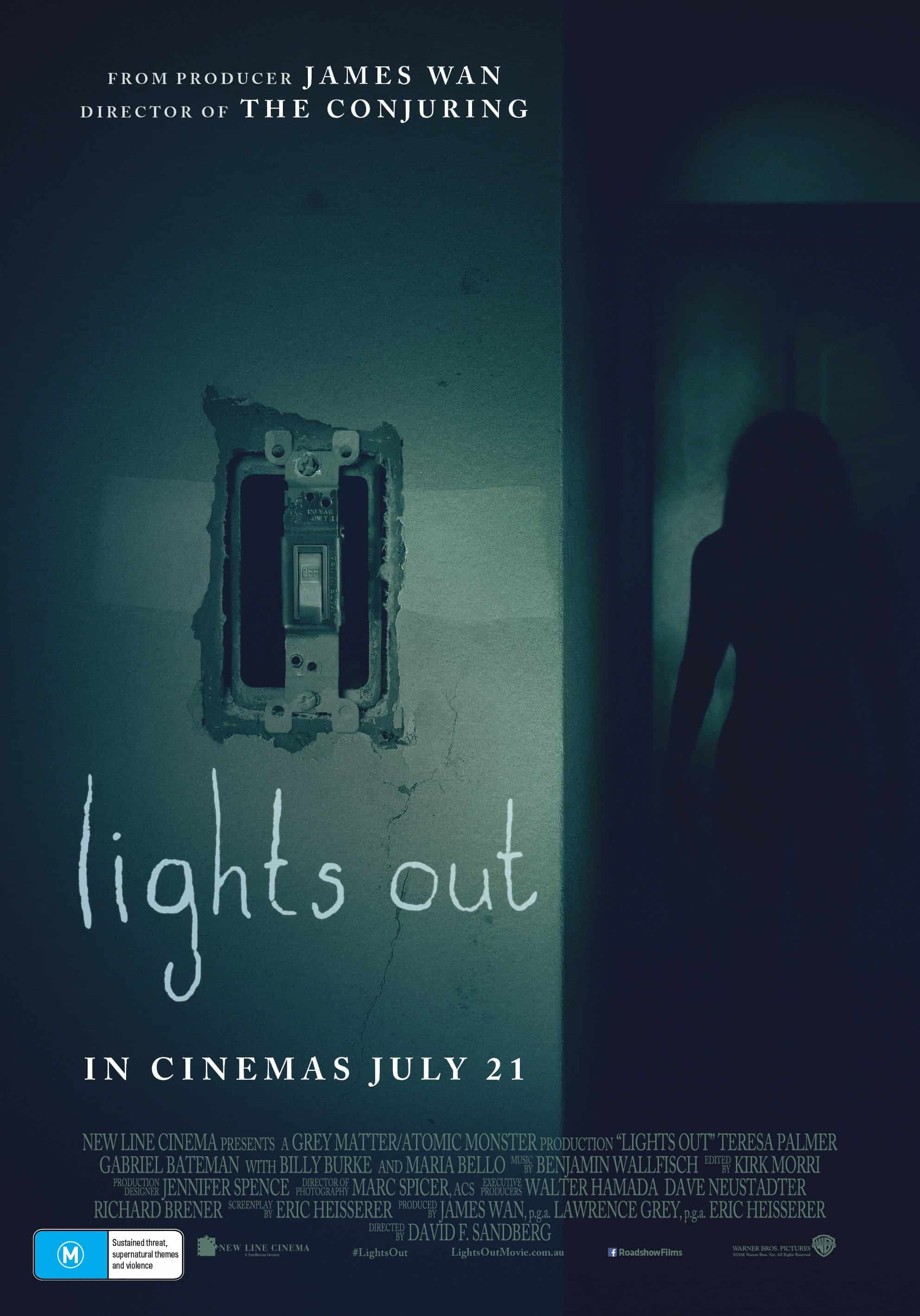 Mike's Review: Lights Out (2016)